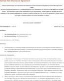 Confidentiality Agreement Sample