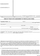 Deed of Trust Form
